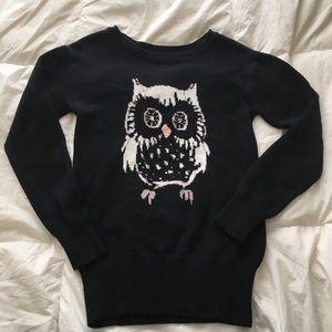 GAP Sweater Black with Owl